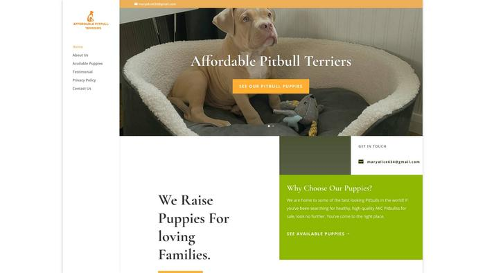 Affordablepitbullterriers.com - Pit Bull Puppy Scam Review
