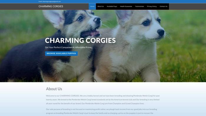 Charmingcorgies.com - Corgi Puppy Scam Review