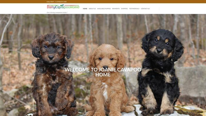 Dallycavapoohome.store - Cavapoo Puppy Scam Review