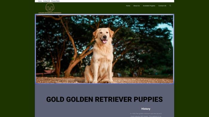 Goldenretrievers-purebred.com - Golden Retriever Puppy Scam Review