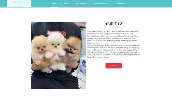 Jovanspomeranianhome.com - Pomeranian Puppy Scam Review