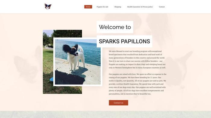 Sparkspapillons.com - Papillon Puppy Scam Review
