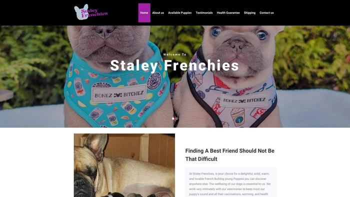 Staleyfrenchies.com - French Bulldog Puppy Scam Review