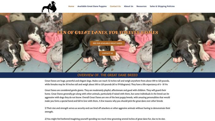 Denofgreatdanes.com - Great Dane Puppy Scam Review
