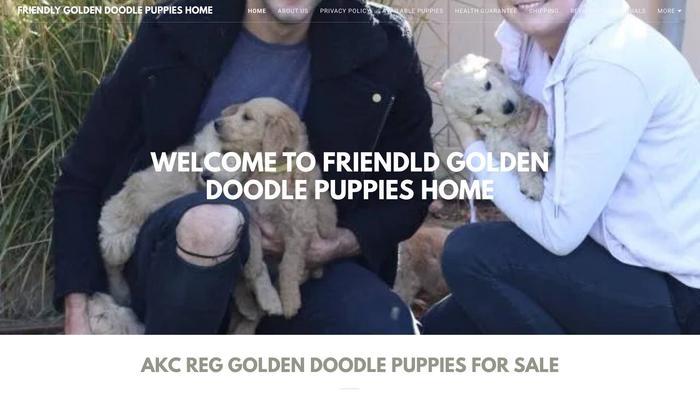Friendlygoldendoodlepuppies.com - Golden Doodle Puppy Scam Review