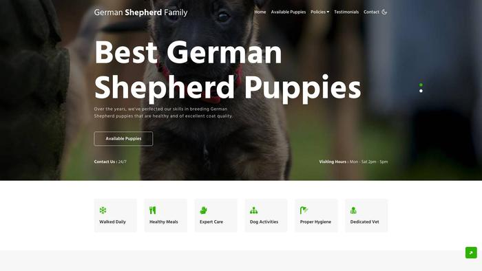 Germanshepherdfamily.info - Germanshepherd Puppy Scam Review