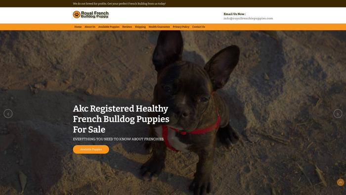 Royalfrenchiepuppies.com - French Bulldog Puppy Scam Review