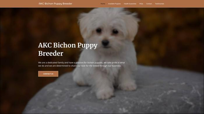 Akcbichonpuppybreeder.com - Bichon Frise Puppy Scam Review