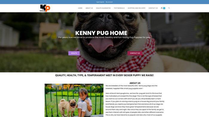 Kennypughome.com - Pug Puppy Scam Review