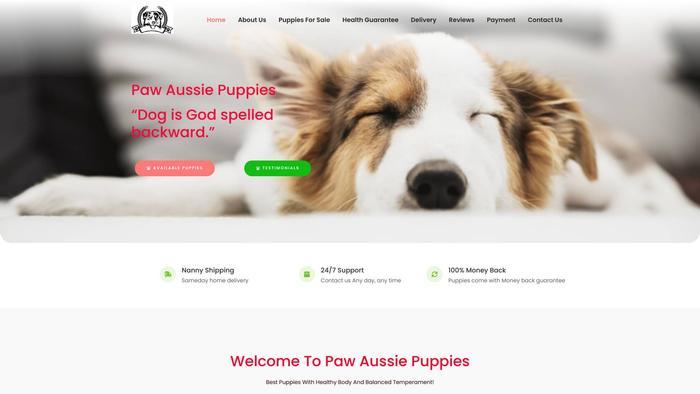 Pawaussiepuppies.com - Australian Shepherd Puppy Scam Review