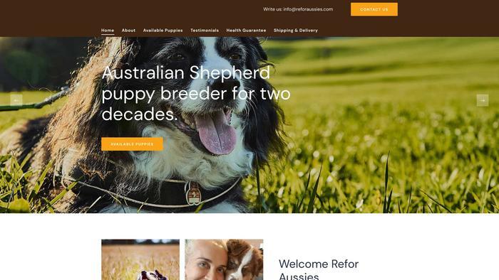 Reforaussies.com - Australian Shepherd Puppy Scam Review