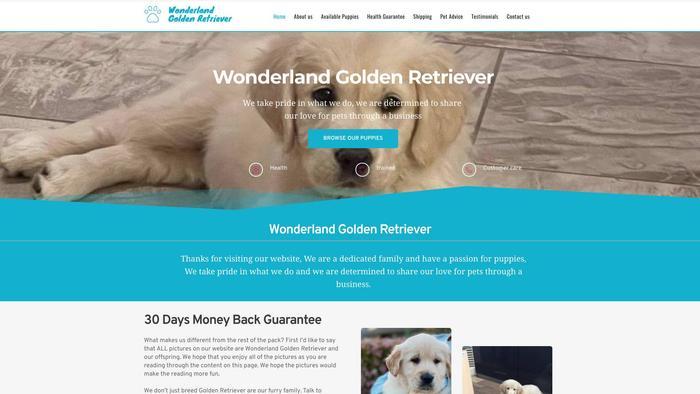 Wonderlandgoldenretriever.com - Golden Retriever Puppy Scam Review