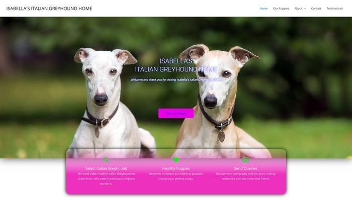 Isabellasitaliangreyhoundhome.com - Labrador Puppy Scam Review