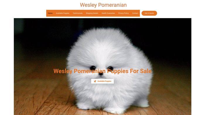 Wesleypomeranian.com - Pomeranian Puppy Scam Review