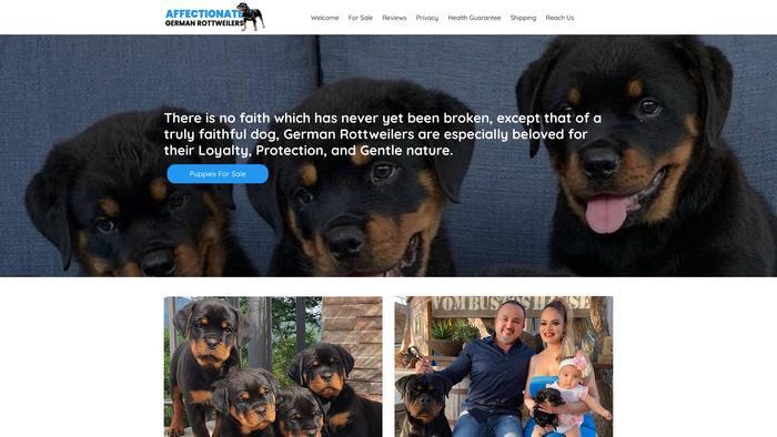 Affectionategermanrottweilers.com - Germanshepherd Puppy Scam Review