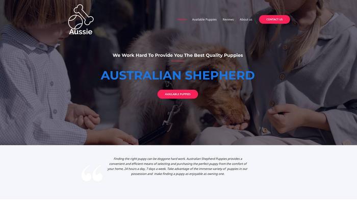 Australianshepherdpuppies.one - Germanshepherd Puppy Scam Review