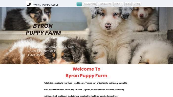 Byronpuppyfarm.com - Dachshund Puppy Scam Review