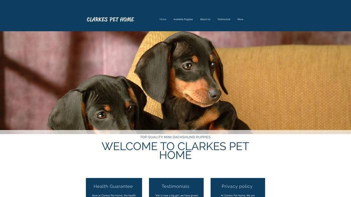 Clarkespethome.com - Dachshund Puppy Scam Review