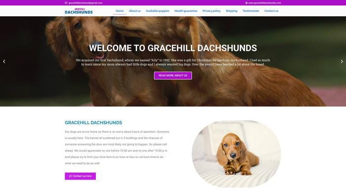 Gracehilldachshunds.com - Dachshund Puppy Scam Review