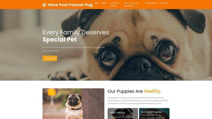 Haveyourforeverpug.com - Pug Puppy Scam Review