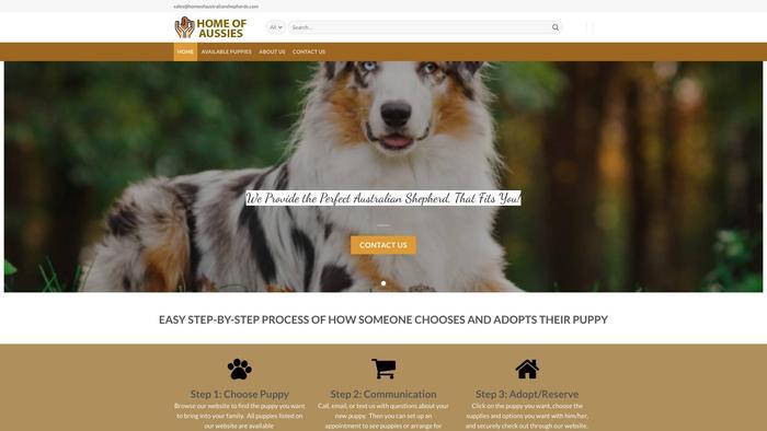 Homeofaustralianshepherds.com - Germanshepherd Puppy Scam Review