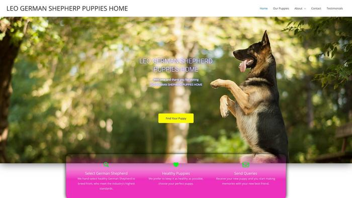 Leogermanshepherppuppieshome.com - Germanshepherd Puppy Scam Review