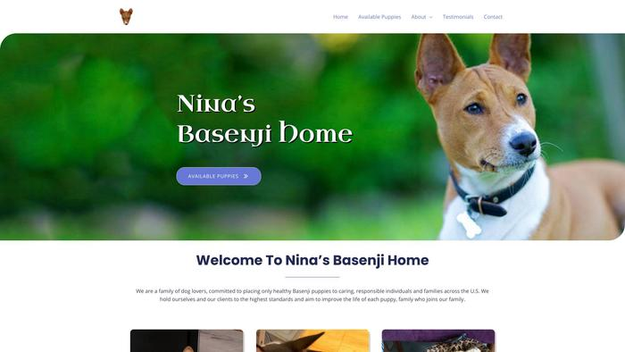 Ninasbasenjihome.com - Basenji Puppy Scam Review