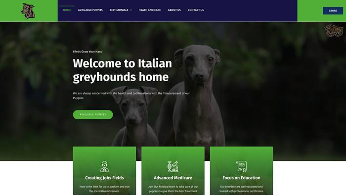 Italiangreyhoundshome.store - Labrador Puppy Scam Review