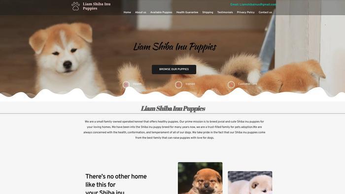 Liamshibainupuppies.com - Shibhainu Puppy Scam Review
