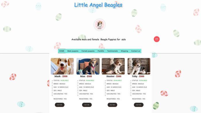 Littleangelpuppies.com - Beagle Puppy Scam Review