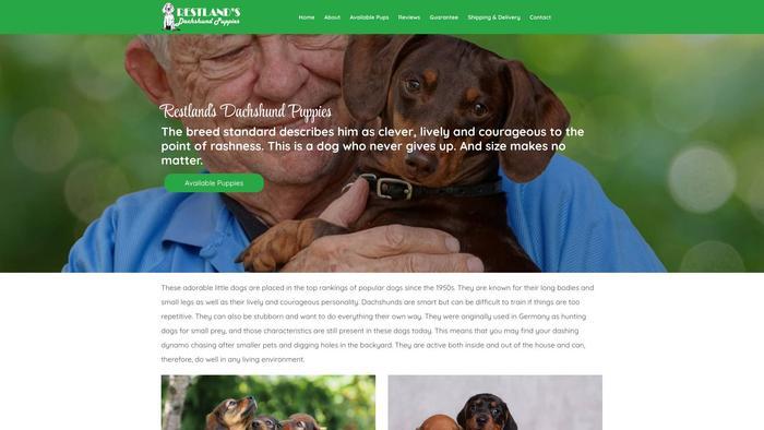 Restlandsdachshundpuppies.com - Dachshund Puppy Scam Review
