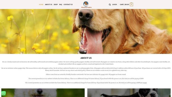 Shoppingpuppies.com - Labrador Puppy Scam Review