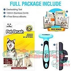Pet Neat Grooming Brush- Shedding by Up to 95% 1