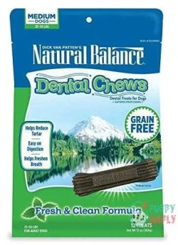 Natural Balance Dental Chews Dog