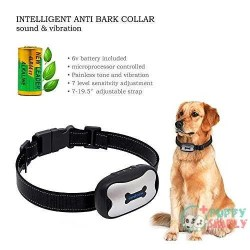 POP VIEW Bark Collar  Humanely Stops Barking 1