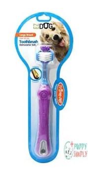 EZDOG Triple Pet Toothbrush