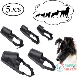 ewinever Dog Muzzles Suit, Adjustable