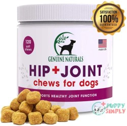 Genuine Naturals Hip And Joint Supplement For Dogs