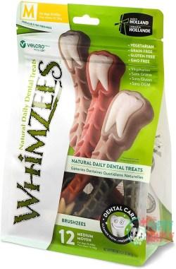 Whimzees Natural Grain-Free Dental Dog Treats