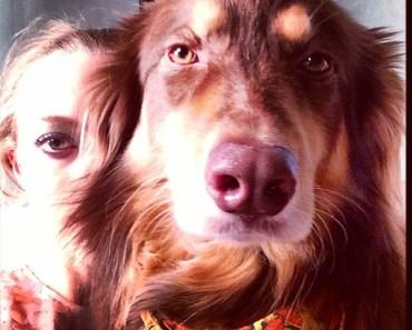 Amanda Seyfried Joined By Her Dog Finn For Elle Photo Shoot