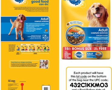 Pedigree Dog Food Issues Recall Due to Metal Fragments