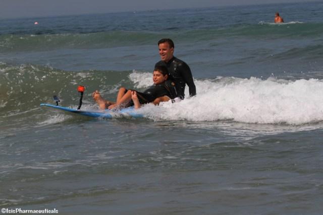 ricocet teaches kids to surf