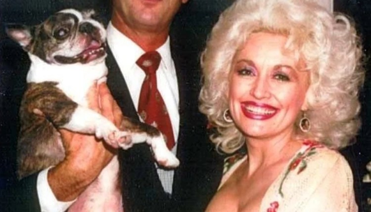 Dolly Parton and Dog