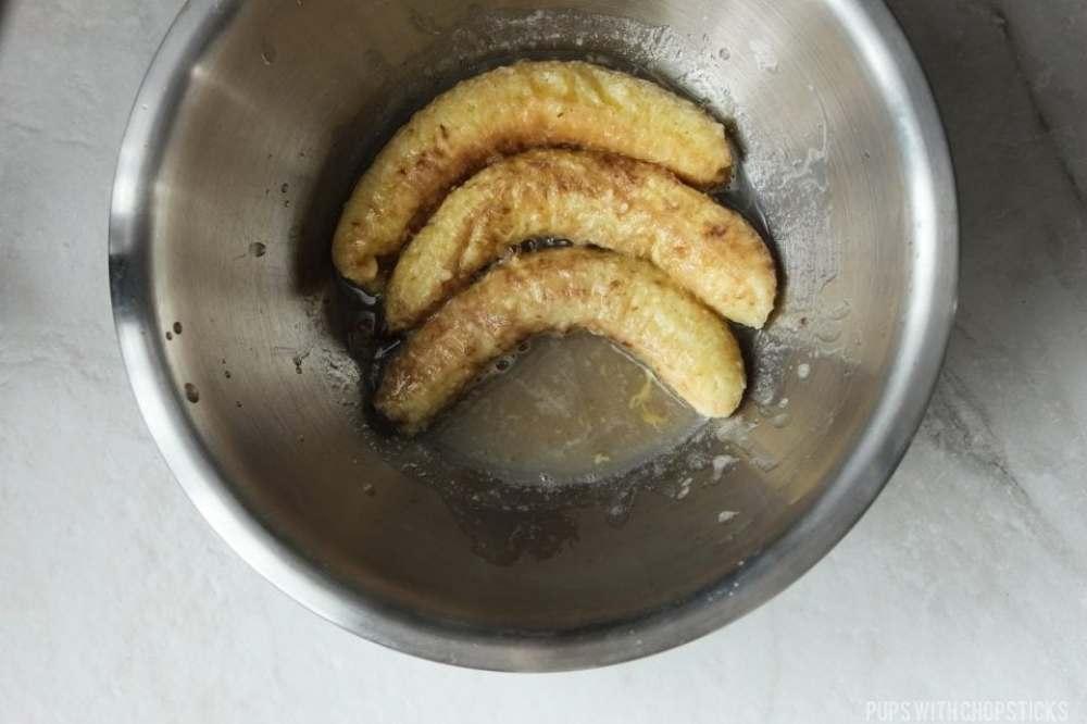 Roasted Banana Banana Bread Recipe
