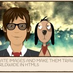 Create images and make them travel the world using HTML5, SVG, Canvas and Javascript