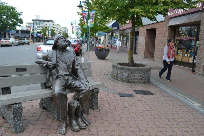 カナダのシドニーの町並みの写真