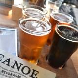 Canoe Brewpub、ビクトリアの地ビールの写真