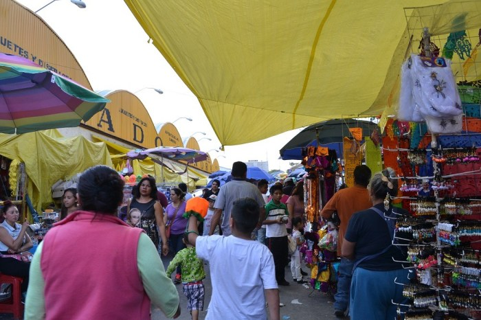 メキシコシティのソノラ市場の写真