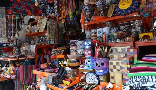 メキシコのお土産が歴史を語る!?プエブラ・パリアン市場☆