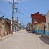 キューバ・トリニダーの路地の写真